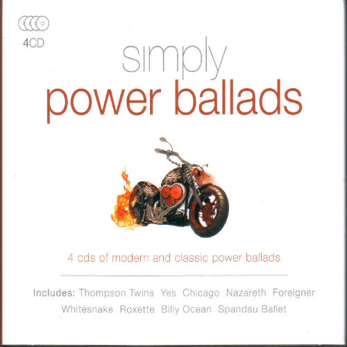 Simply Power Ballads (4CD, 2016)
