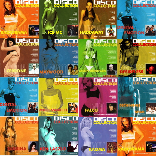 Disco Collection (1999 - 2002) (37 CD) [MP3]