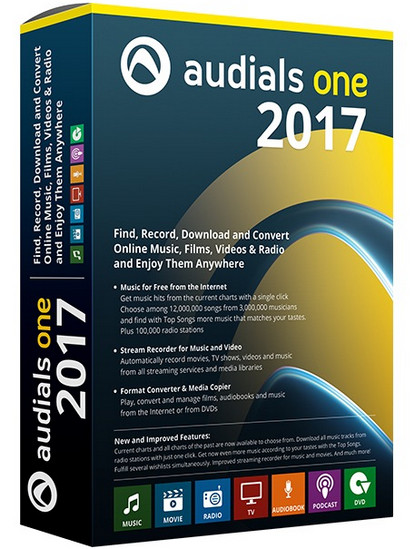 Audials One 2017 1 17 1600 Multilingual