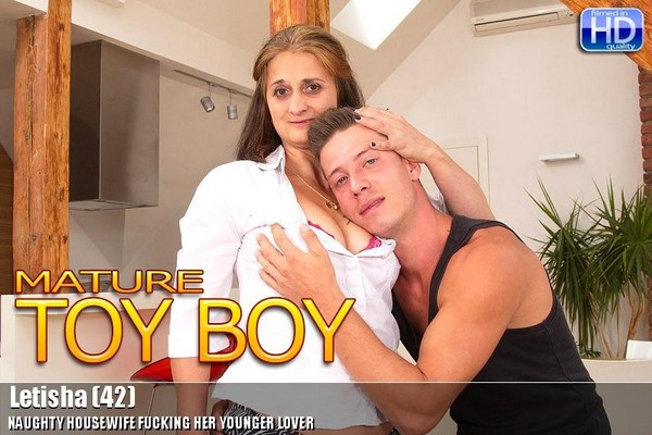 Naughty hausewife fucking her younger lover - Letisha - 42 Cover