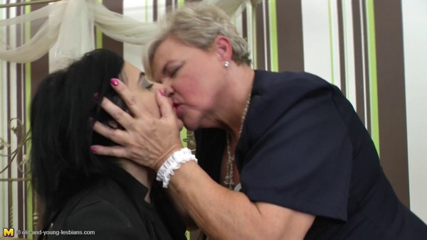 Haline - 60, Rowan - 24 Old and Young Lesbian Cover