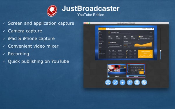 JustBroadcaster for YouTube 1 7 Mac Os X