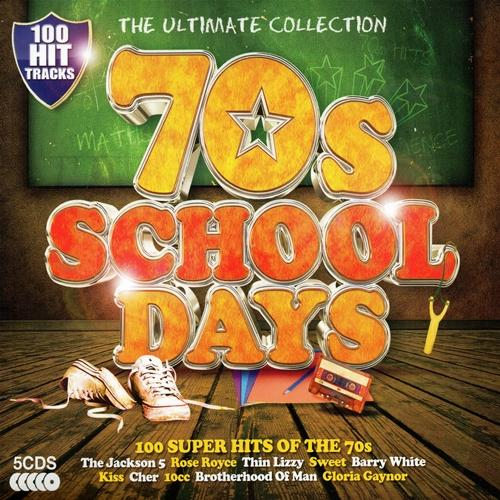 VA Ultimate Collection 70 s Schooldays 5CD 2013