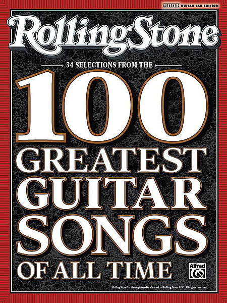 Rolling Stone Magazine 100 Greatest Guitar Songs Of All Time 2008