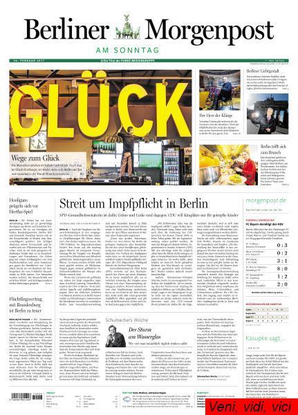 Berliner Morgenpost 26 Februar 2017