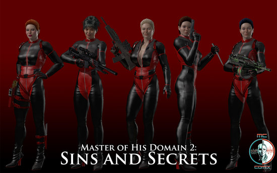 Master of His Domain 2 Sins and Secrets vol 1 to 68 Cover