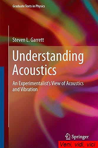 Understanding Acoustics An Experimentalists View of Acoustics and Vibration Graduate Texts in Physics