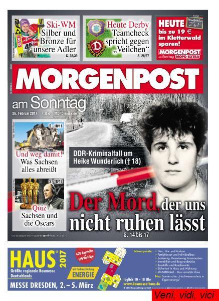 Chemnitzer Morgenpost 26 Februar 2017