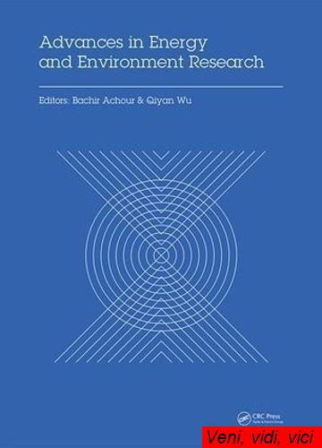 Advances in Energy and Environment Research Proceedings of the International Conference on Advances in Energy and