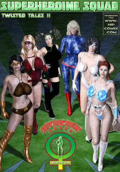 Superheroines Squad 1 to 33 Cover