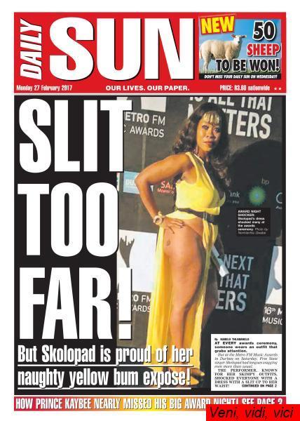 Daily Sun Western Cape February 27 2017