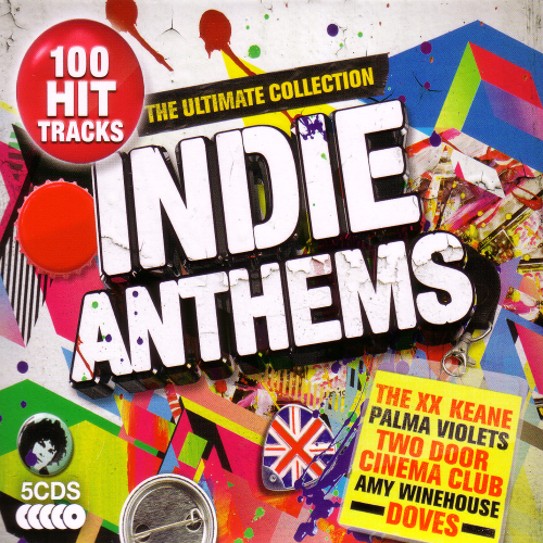 Indie Anthems - The Ultimate Collection 5CD [BMG company]