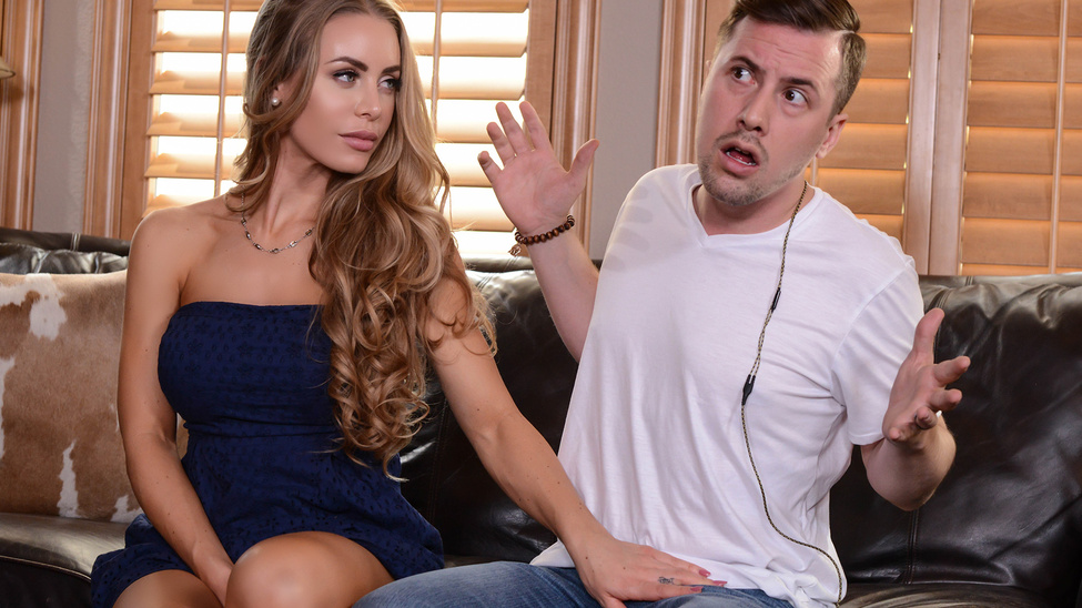 Theres A Pornstar In My House Nicole Aniston amp Jessy JonesBRAZZERS