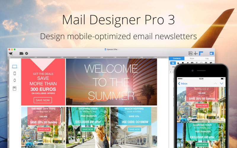 Mail Designer Pro v3 3 0 Multilangual Mac Os X