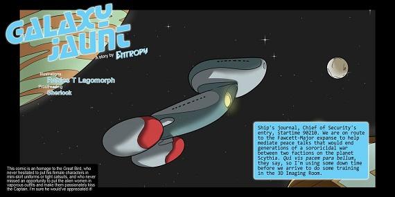Rabies - Galaxy Jaunt - Episode 2 (Star Trek)