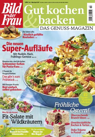 bild der frau gut kochen und backen magazin jahresthema