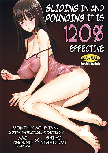 Sliding in and Pounding it is 120 Effective (English)