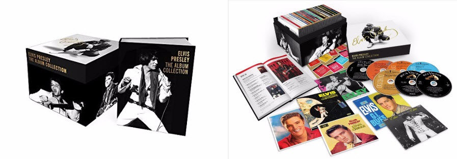 Elvis Presley The Album Collection 60th Anniversary 60 CD Edition 2016
