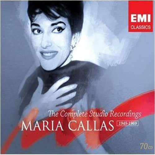 Maria Callas The Complete Studio Recordings 70 CD 2007