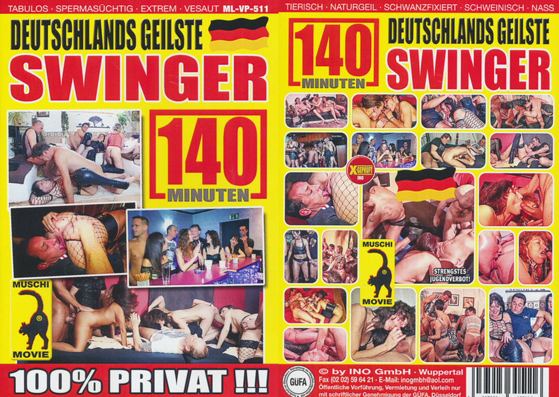 Cover Deutschlands geilste Swinger