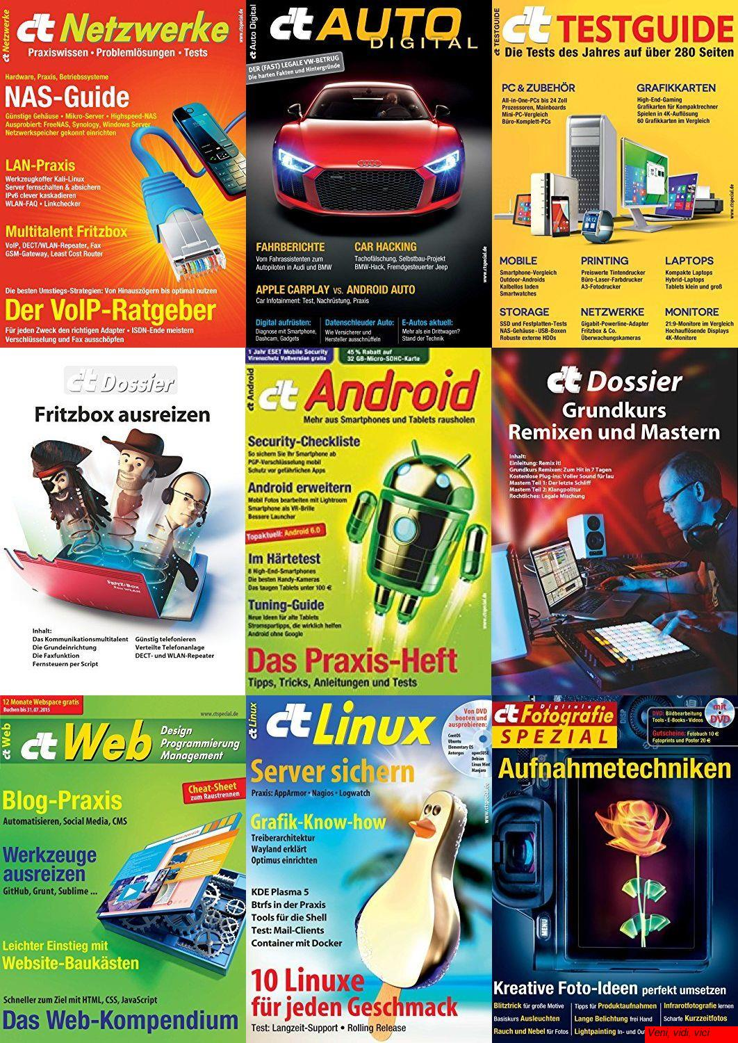 Cover: ct Magazin Heise 2013 2017 Issues Collection
