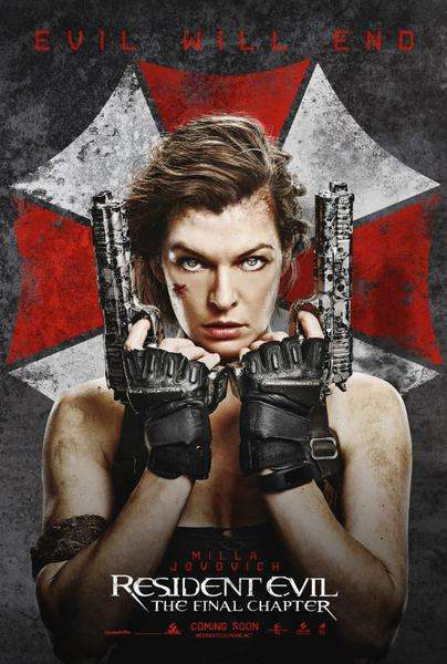 Resident Evil: The Final Chapter,