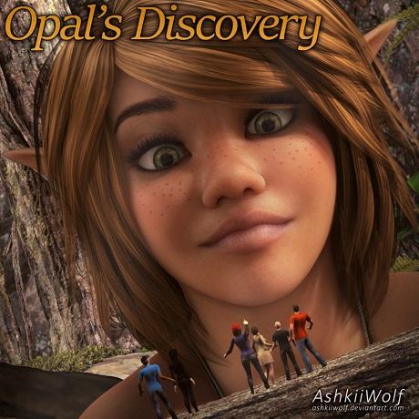 AshkiiWolf - Opal's Discovery
