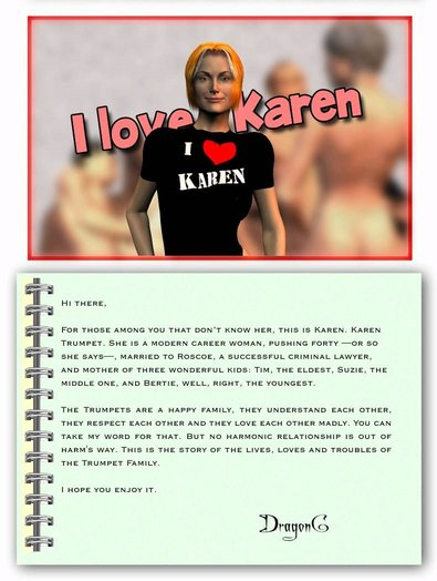I Love Karen chapter 1 Cover