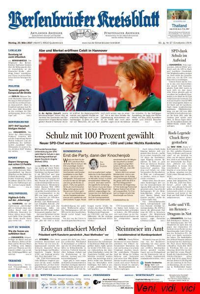 Bersenbruecker Kreisblatt 20 Maerz 2017