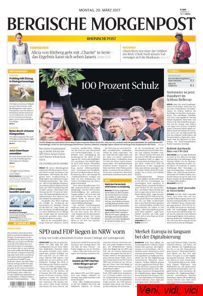 Bergische Morgenpost 20 Maerz 2017