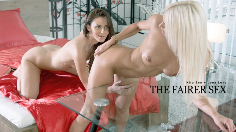 Kira Zen, Lena Love - The Fairer Sex 20.03.2017