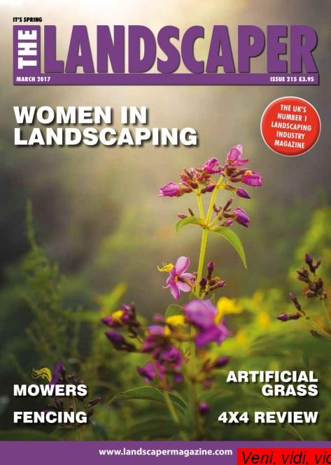 : The Landscaper March 2017