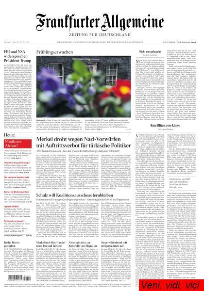: Frankfurter Allgemeine Zeitung 21 Maerz 2017