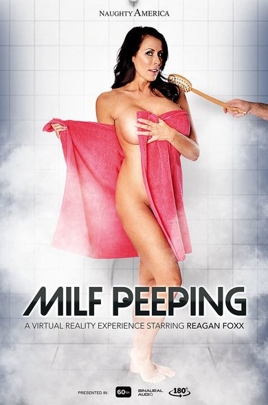Reagan Foxx - Milf Peeping 22349