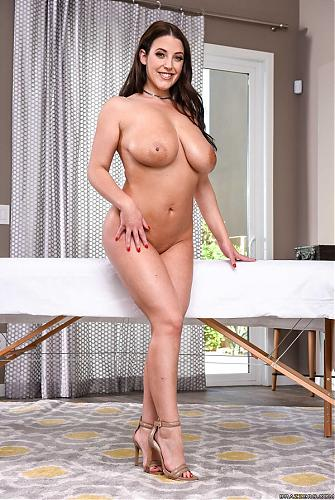 Angela White - The Wrong Massage Feels So Right 1080p Cover