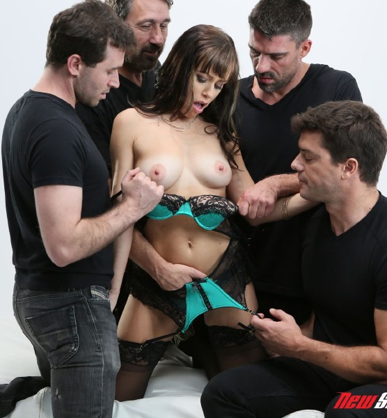 Alana Cruise - Alana Gets Her DP and Double Vag Gangbang 1080p Cover