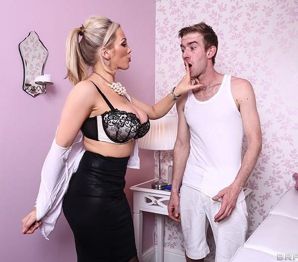 Rebecca Moore - Massaging Mrs. Moore Cover
