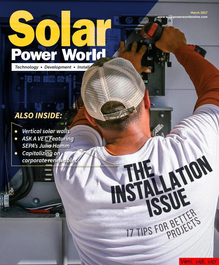 Solar Power World March 2017