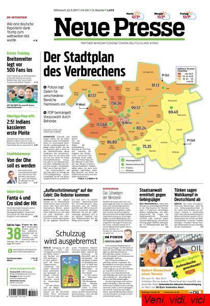 Neue Presse 22 Maerz 2017