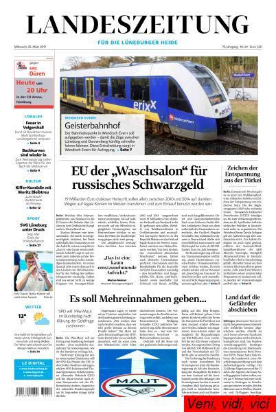 Landeszeitung Lueneburger Heide 22 Maerz 2017