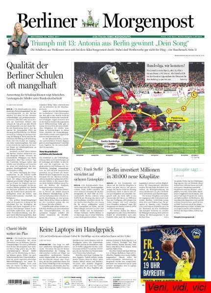 Berliner Morgenpost 22 Maerz 2017