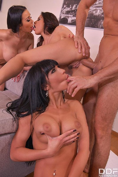 Anissa Kate, Patty Michova, Valentina Ricci - Anal Porn Home Party_ Horny Fantastic Four Fuck For Fun Cover