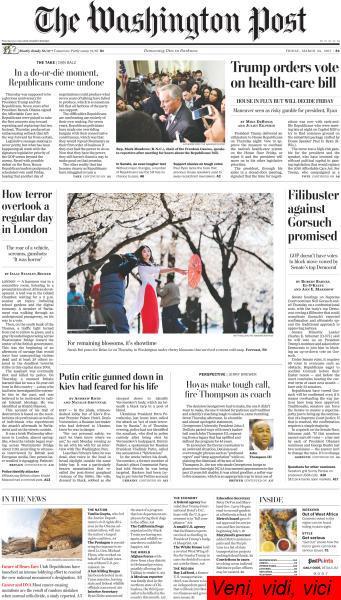 The Washington Post March 24 2017
