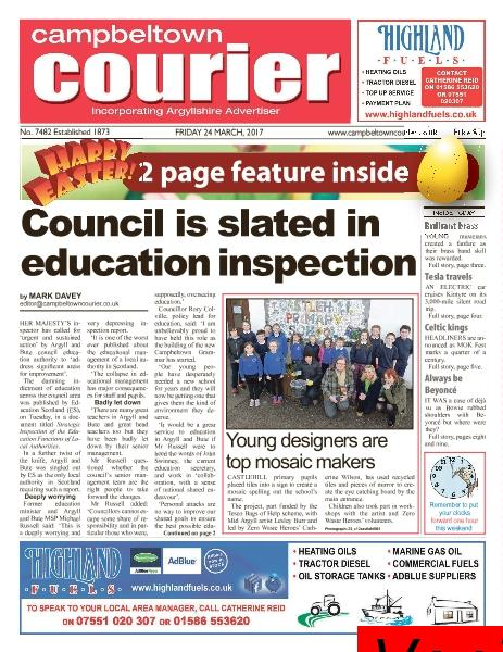 Campbeltown Courier 24 March 2017
