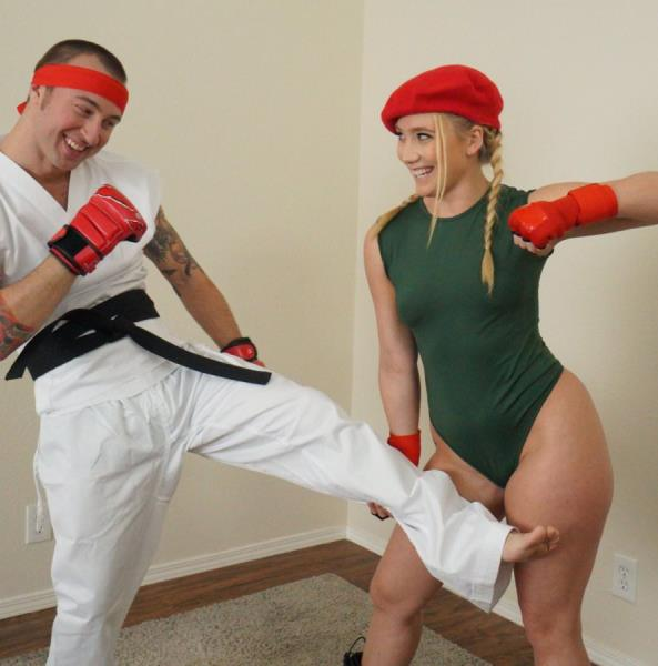 AJ Applegate - Video Game Cosplay Fuck 1080p