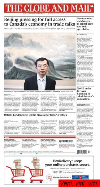 The Globe and Mail March 24 2017