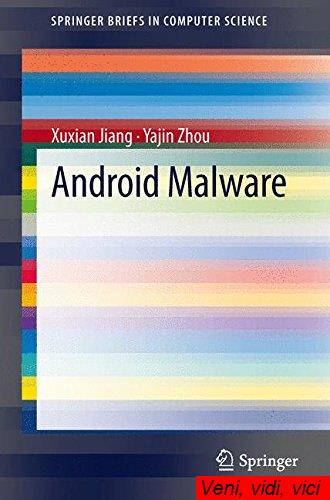 Android Malware Springer Briefs in Computer Science
