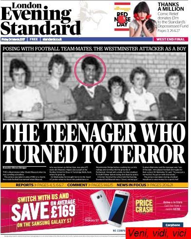 London Evening Standard 24 March 2017
