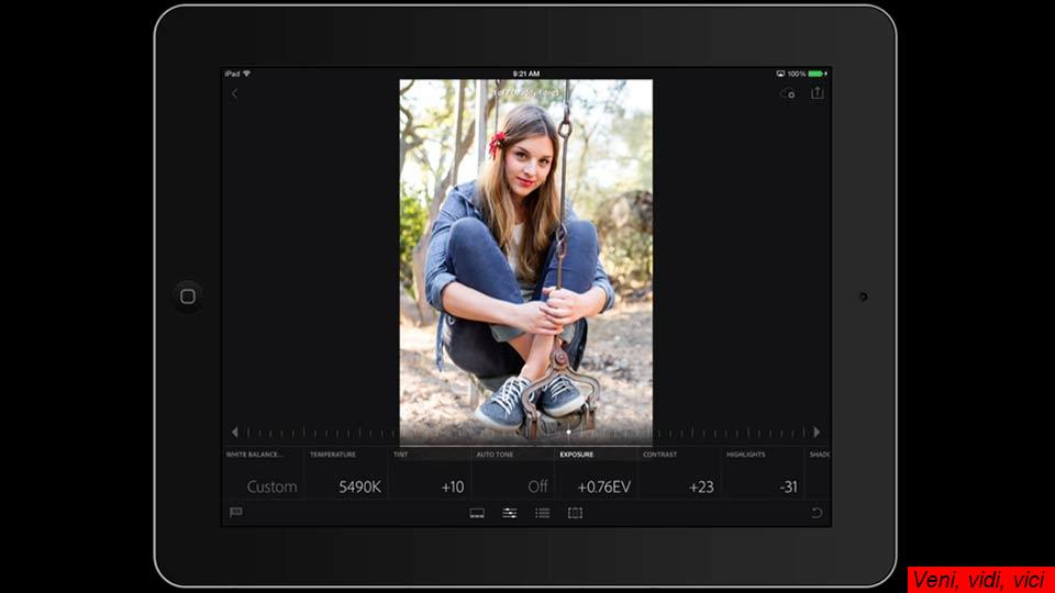 Lightroom Mobile First Look