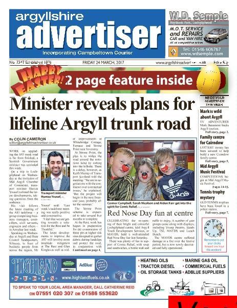 Argyllshire Advertiser 24 March 2017